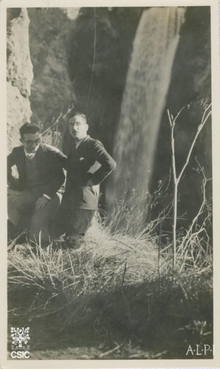 Lorenzo R-Castellano e Sanchis Guarner. Monasterio de Piedra. FRC
